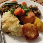Vegan, Roast Dinner, Homemade, Potato, Veg, Stuffing