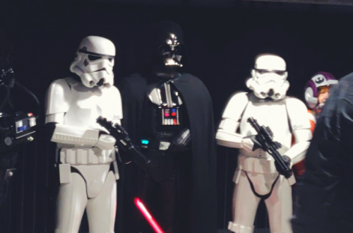 Photo of Darth Vader and Stormtroopers with the caption of: Star Wars: A New Hope - LIve in Concert!